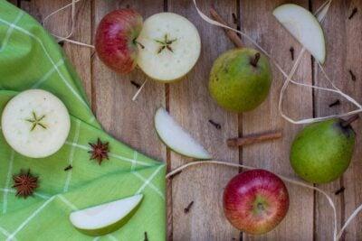 apple cider vinegar apples and pears